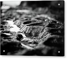 Water Carvings Acrylic Print