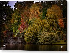 Acrylic Print featuring the photograph Water Cascade by Ryan Photography