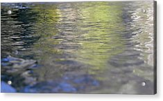 Water Colours Acrylic Print