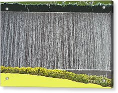 Acrylic Print featuring the photograph Water Curtain by Bill Thomson