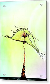 Water Drop #7 Acrylic Print