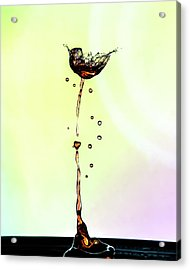 Water Drop #9 Acrylic Print
