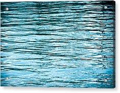 Water Flow Acrylic Print by Steve Gadomski