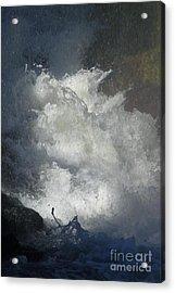 Water Fury 3 Acrylic Print by Jean Bernard Roussilhe