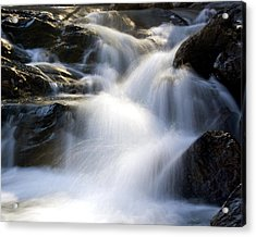 Acrylic Print featuring the photograph Water In Motion by Alan Raasch