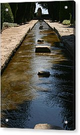 Water In The Balchik Garden Acrylic Print