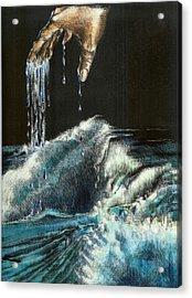 Water Acrylic Print by Kathleen Romana