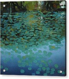 Water Lilies 3 Acrylic Print