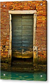 Water-logged Door Acrylic Print