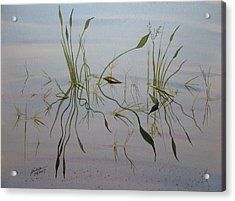 Acrylic Print featuring the painting Water Music by Joel Deutsch