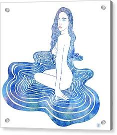 Water Nymph Cii Acrylic Print