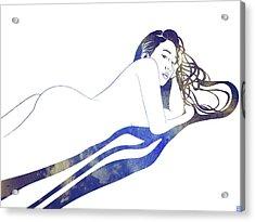 Water Nymph II Acrylic Print