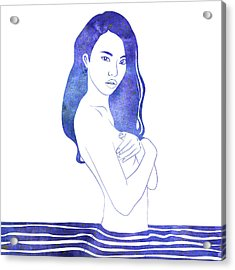 Water Nymph Xi Acrylic Print