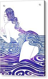 Water Nymph Xix Acrylic Print