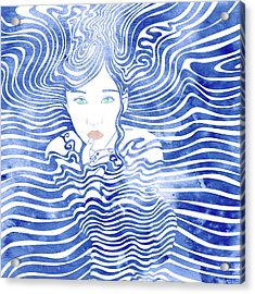 Water Nymph Xliii Acrylic Print