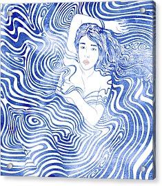 Water Nymph Xliv Acrylic Print