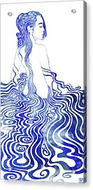 Water Nymph Xv Acrylic Print