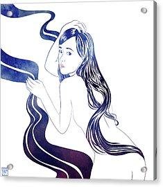 Water Nymph Xxxi Acrylic Print