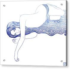 Water Nymph Xxxv Acrylic Print