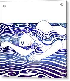 Water Nymph Xxx Acrylic Print
