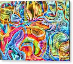 Water Play Acrylic Print