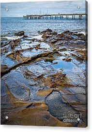 Acrylic Print featuring the photograph Water Pool by Perry Webster