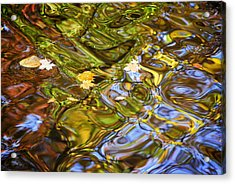 Water Prism Acrylic Print by Frozen in Time Fine Art Photography