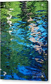 Water Reflections Acrylic Print by Bill Brennan - Printscapes