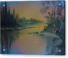 Water Scene 2a Acrylic Print