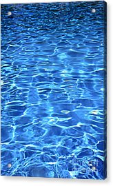Acrylic Print featuring the photograph Water Shadows by Ramona Matei