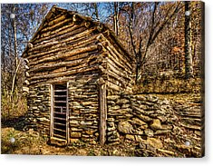 Water Shed Acrylic Print
