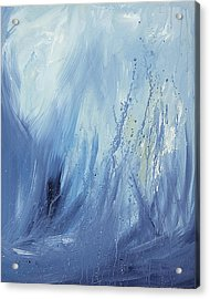 Water Acrylic Print by Silvie Kendall