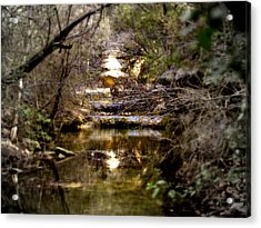 Water Stairs Acrylic Print by James Granberry