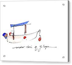 Water Taxi Of Yelapa Acrylic Print