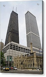 Water Tower Place And Company Acrylic Print