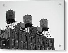Water Towers Acrylic Print