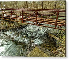 Water Under The Bridge Acrylic Print