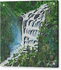 Water Acrylic Print by Usha Rai