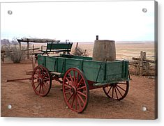 Water Wagon Acrylic Print by Fred Wilson