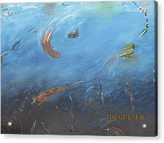 Water World Acrylic Print by Anusha Garg