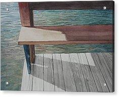 Water3 Acrylic Print by Jeffrey Babine