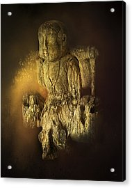 Waterboy As The Buddha Acrylic Print by Theresa Tahara