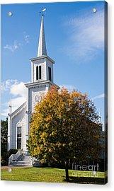 Waterbury Congregational Church, Ucc Acrylic Print