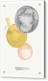 Watercolor Abstract #4 Acrylic Print