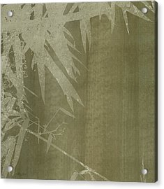 Watercolor Bamboo 02 Acrylic Print