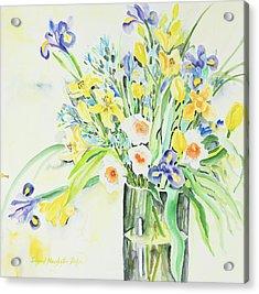 Watercolor Series 143 Acrylic Print