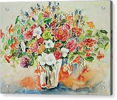 Watercolor Series 23 Acrylic Print