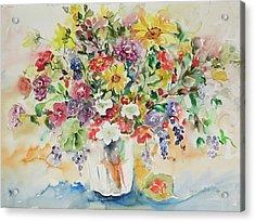 Watercolor Series 33 Acrylic Print