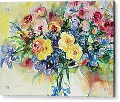 Watercolor Series 62 Acrylic Print