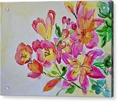 Watercolor Series No. 225 Acrylic Print
